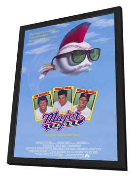 Major League - 11 x 17 Movie Poster - Style A - in Deluxe Wood Frame