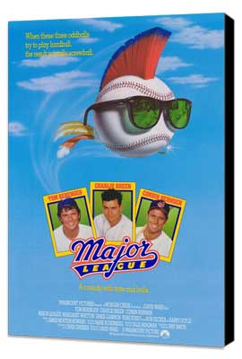 Major League - 27 x 40 Movie Poster - Style A - Museum Wrapped Canvas