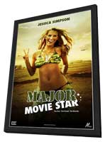 Major Movie Star - 27 x 40 Movie Poster - Style A - in Deluxe Wood Frame