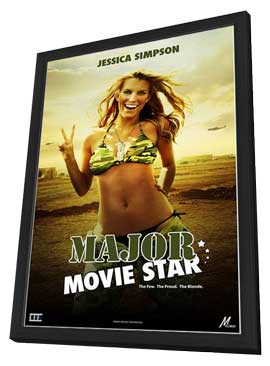 Major Movie Star - 11 x 17 Movie Poster - Style A - in Deluxe Wood Frame