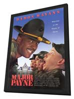 Major Payne - 27 x 40 Movie Poster - Style A - in Deluxe Wood Frame