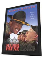 Major Payne - 11 x 17 Movie Poster - Style A - in Deluxe Wood Frame