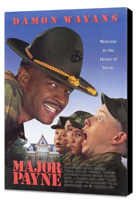 Major Payne - 27 x 40 Movie Poster - Style A - Museum Wrapped Canvas