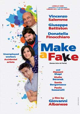 Make a Fake - 11 x 17 Movie Poster - UK Style A