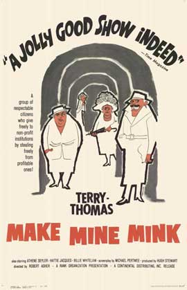 Make Mine Mink - 11 x 17 Movie Poster - Style B
