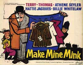 Make Mine Mink - 22 x 28 Movie Poster - Half Sheet Style A