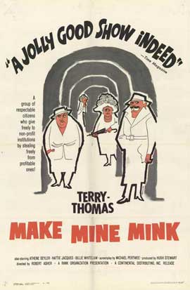 Make Mine Mink - 27 x 40 Movie Poster - Style B