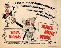Make Mine Mink - 22 x 28 Movie Poster - Half Sheet Style B