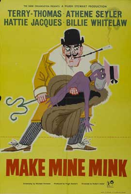 Make Mine Mink - 11 x 17 Movie Poster - Style A