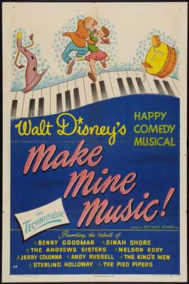 Make Mine Music! - 11 x 17 Movie Poster - Style B