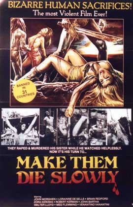 Make Them Die Slowly - 11 x 17 Movie Poster - Style A
