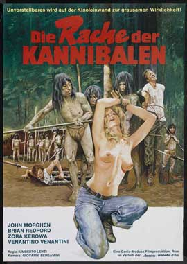 Make Them Die Slowly - 27 x 40 Movie Poster - German Style A
