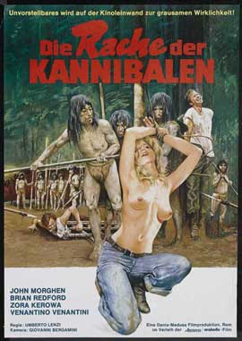 Make Them Die Slowly - 27 x 40 Movie Poster - German Style B