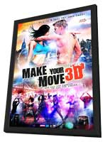 Make Your Move - 11 x 17 Movie Poster - Dutch Style A - in Deluxe Wood Frame