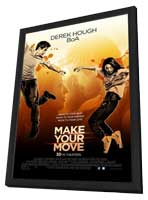 Make Your Move - 11 x 17 Movie Poster - Style A - in Deluxe Wood Frame