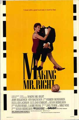 Making Mr. Right - 27 x 40 Movie Poster - Style A