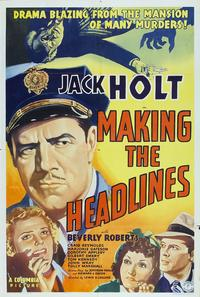 Making the Headlines - 27 x 40 Movie Poster - Style A