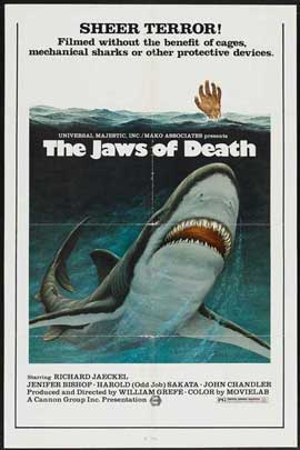 Mako: The Jaws of Death - 27 x 40 Movie Poster - Style A