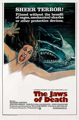 Mako: The Jaws of Death - 27 x 40 Movie Poster - Style B