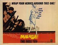 Malaga - 22 x 28 Movie Poster - Half Sheet Style A