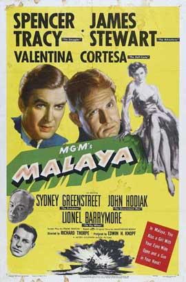 Malaya - 27 x 40 Movie Poster - Style B