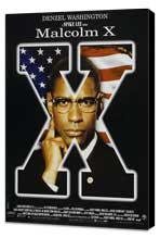 Malcolm X - 27 x 40 Movie Poster - Style D - Museum Wrapped Canvas