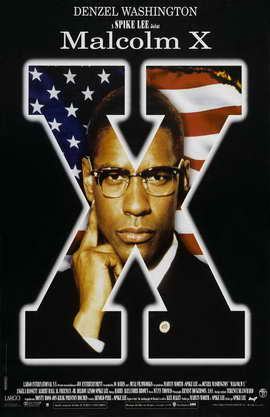 Malcolm X - 11 x 17 Movie Poster - Style E