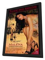 Malena - 27 x 40 Movie Poster - Style A - in Deluxe Wood Frame