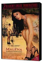 Malena - 27 x 40 Movie Poster - Style A - Museum Wrapped Canvas