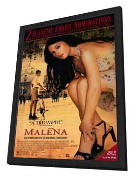 Malena - 11 x 17 Movie Poster - Style A - in Deluxe Wood Frame
