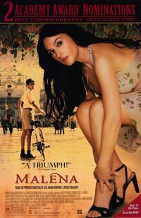 Malena - 11 x 17 Movie Poster - Style A - Museum Wrapped Canvas