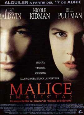Malice - 11 x 17 Movie Poster - Spanish Style B