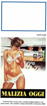 Malizia oggi - 13 x 28 Movie Poster - Italian Style A
