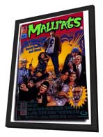 Mallrats - 27 x 40 Movie Poster - Style B - in Deluxe Wood Frame