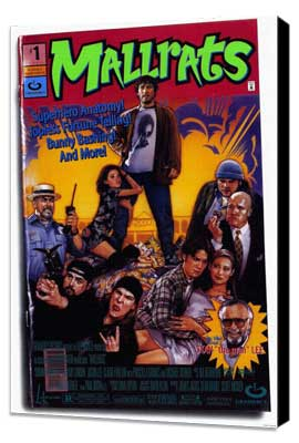 Mallrats - 27 x 40 Movie Poster - Style B - Museum Wrapped Canvas