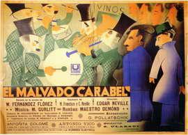 Malvado Carabel, El - 11 x 17 Movie Poster - Spanish Style A