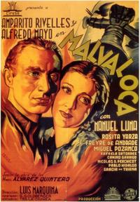 Malvaloca - 11 x 17 Movie Poster - Spanish Style A