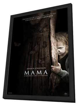 Mama - 11 x 17 Movie Poster - Style A - in Deluxe Wood Frame