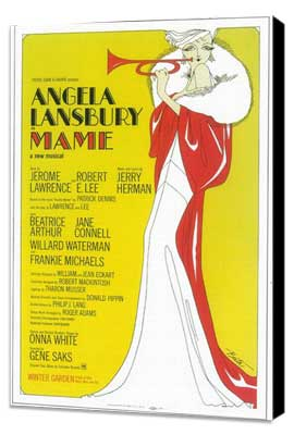 Mame (Broadway) - 11 x 17 Poster - Style A - Museum Wrapped Canvas
