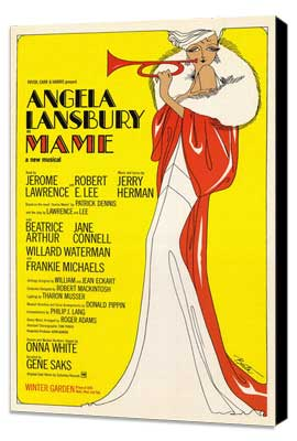 Mame (Broadway) - 27 x 40 Movie Poster - Style A - Museum Wrapped Canvas