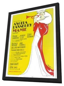 Mame (Broadway) - 11 x 17 Poster - Style A - in Deluxe Wood Frame