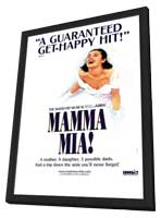 Mamma Mia (Broadway) - 11 x 17 Poster - Style A - in Deluxe Wood Frame