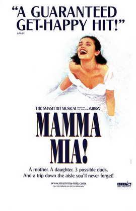 Mamma Mia (Broadway) - 11 x 17 Poster - Style A