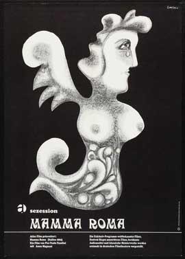 Mamma Roma - 11 x 17 Movie Poster - German Style B