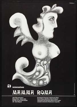 Mamma Roma - 27 x 40 Movie Poster - German Style B
