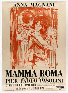 Mamma Roma - 11 x 17 Movie Poster - Italian Style A