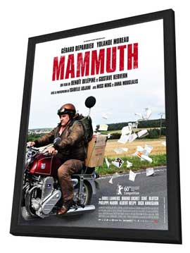 Mammuth - 27 x 40 Movie Poster - French Style A - in Deluxe Wood Frame