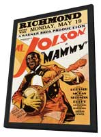 Mammy - 11 x 17 Movie Poster - Style A - in Deluxe Wood Frame