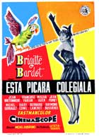 Mam'zelle Pigalle - 11 x 17 Movie Poster - Spanish Style A