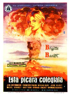 Mam'zelle Pigalle - 27 x 40 Movie Poster - Spanish Style B